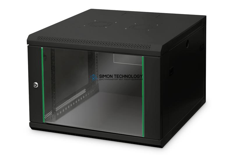 Digitus 7U Wall Mounting Cabinet 416x600x600 mm. Black (DN-19 07U-6/6-EC-SW)