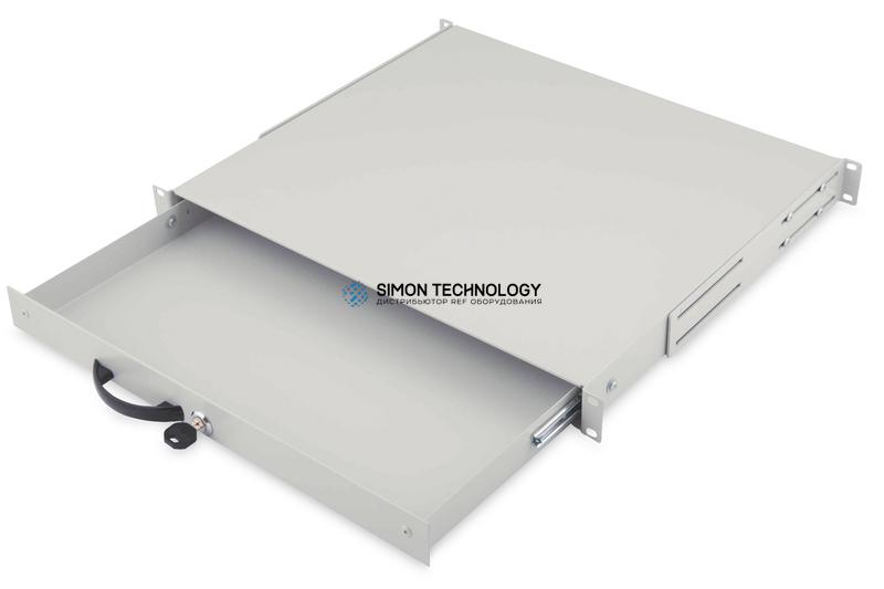 Digitus 1U lockable keyboard shelf Grey RAL 7035 (DN-19 KEY-1U)
