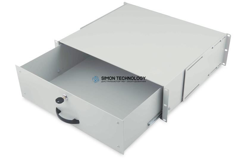 Digitus 3U Lockable Drawer Grey RAL 7035 (DN-19 KEY-3U)