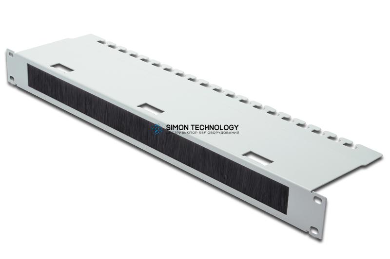 Digitus 1U 4210 panel front opening w/brush strip. rear (DN-19 ORG-3U)