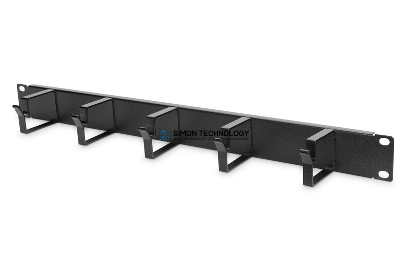 Digitus 1U 4210 panel 5x Cable Rings 40x60mm Black (DN-97602)