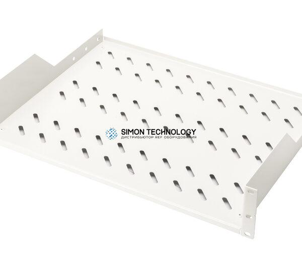 Digitus 2U rack mount fixed shelf vented. Grey (RAL 7035) (DN-97610)