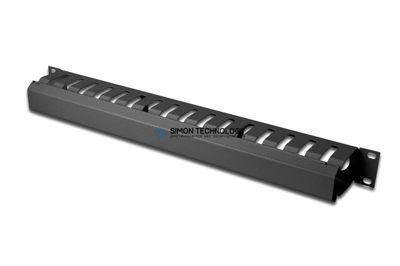 Digitus 1U 4210 Cage Detachable Rear Plate. Black (DN-97617)