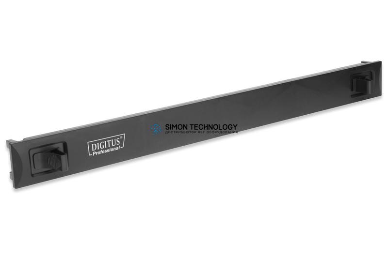 Digitus 1U Blank Panel. Snap-In. Material ABS. Black (DN-97651)