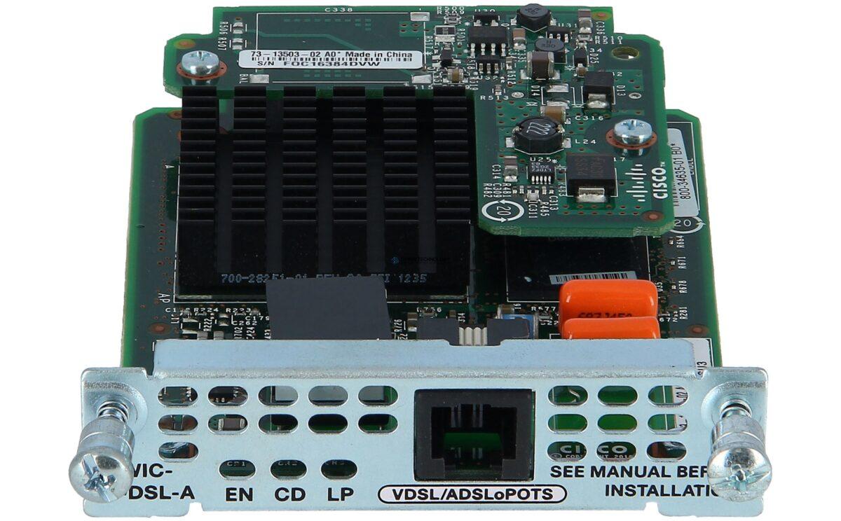 Модуль Cisco Multi Mode VDSL2/ADSL/2/2+ EHWIC Annex A (EHWIC-VA-DSL-A=)