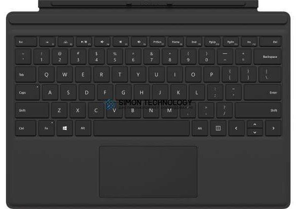 Клавиатура Microsoft MS Surface Pro Keyb Type Cover, Black, Italian (FMN-00010)