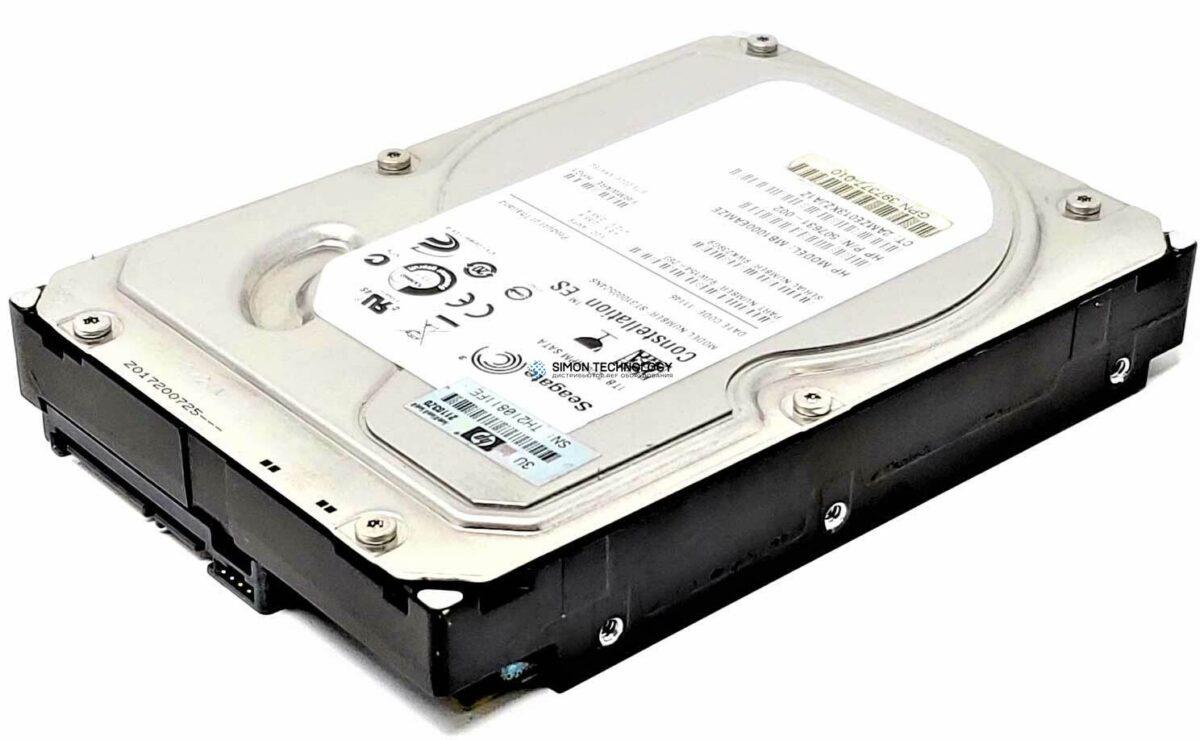 Жесткий диск HPE - HP HDD 1TB SATA NHPL 3G 7.2K LFF - Festplatte - Serial ATA (GB1000EAFJL)