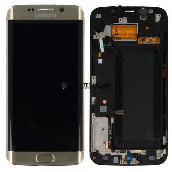 Samsung Sam g Front LCD Asm Gold Galaxy S6 Edge+ G928F (GH97-17819A)