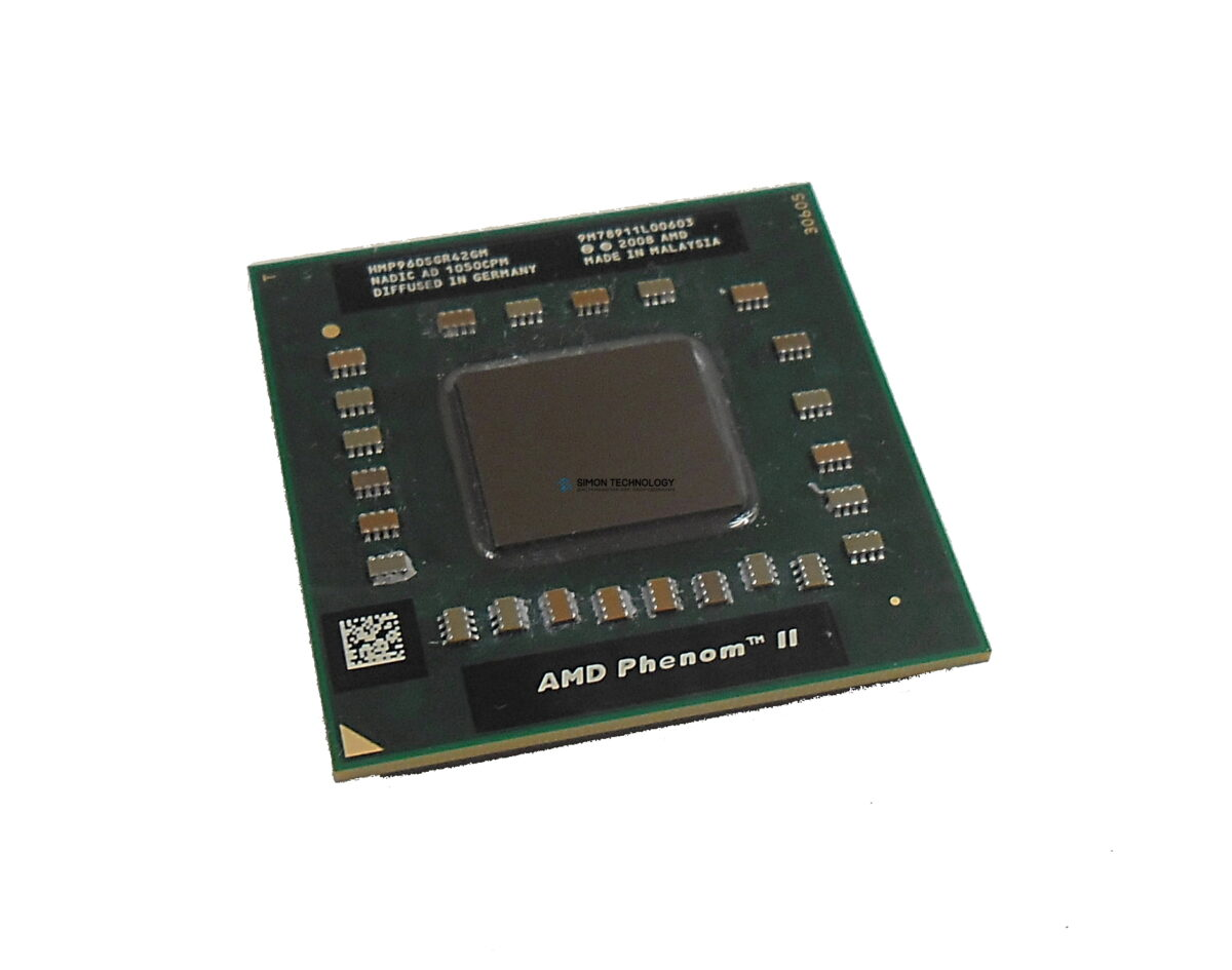 Процессор AMD Phenom II Quad-Core Mobile P960 1.8GHz 2MB (HMP960SGR42GM)