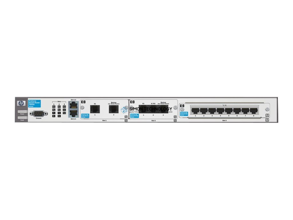 Маршрутизатор HP PROCURVE SECURE ROUTER 7203DL - 1*PSU (J8753A)