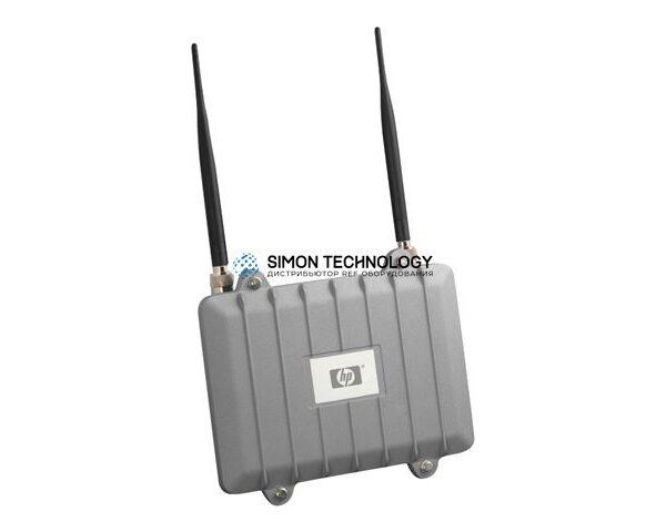 Точка доступа HPE - MSM320-R Access Point WW - Access Point - WLAN 54 Mbps - 100-Port - Kabellos Extern (J9368B)