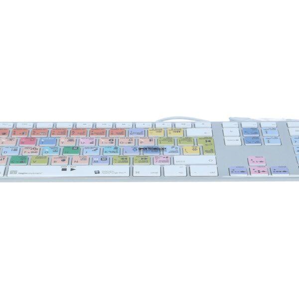 Клавиатура Logickeyboard Logic Pro X Advance uk. (Mac/M89) (LKB-LOGXP2-AM89-UK)