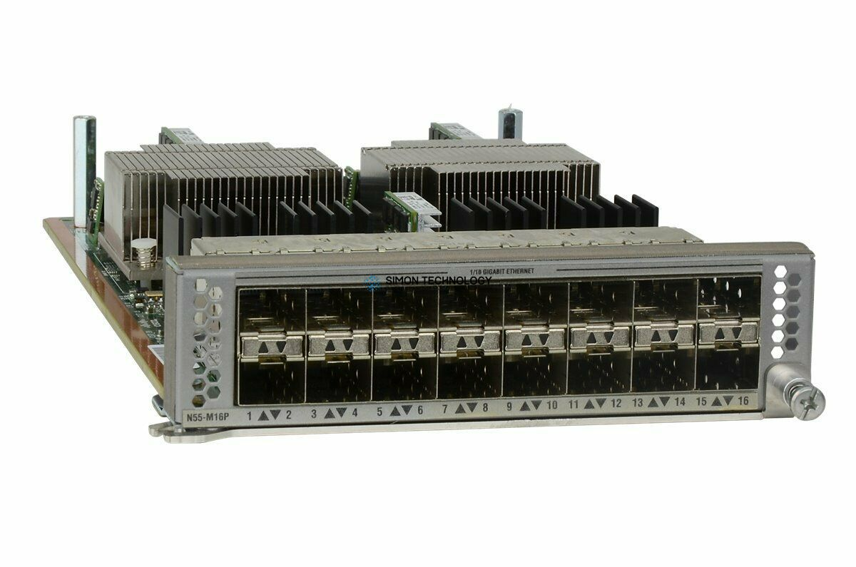 Модуль Cisco 16port Expansion Module (N55-M16P)
