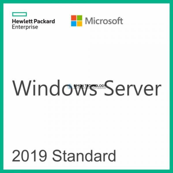 HP Enterprise Microsoft Windows Server 2019 Standard Edition - Lizenz - 16 Kerne - OEM - ROK - DVD - Microsoft Certificate of Authenticity (COA) NEW (P11058-041)