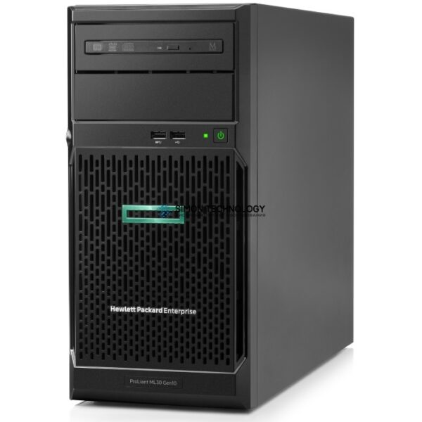 "Сервер HP ProLiant ML30 Gen10 - Server - Tower - 4U - 1-Weg - 1 x Xeon E-2224 / 3.4 GHz - RAM 16 GB - SATA - Hot-Swap 6.4 cm (2.5"") NEW (P16930-421)"