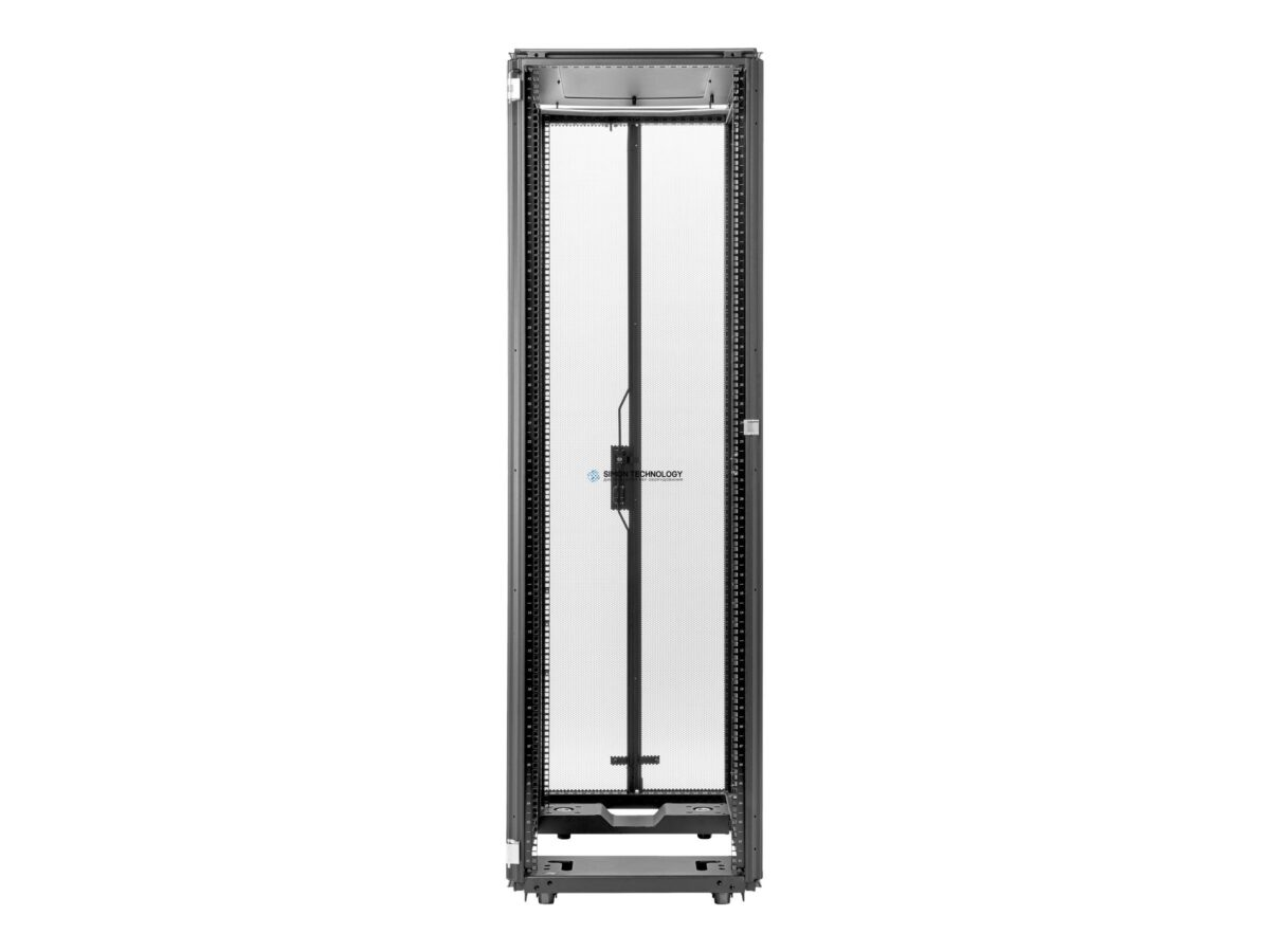 HPE - 42U 600mmx1075mm G2 Kitted Advanced Pallet Rack with Side Panels and Baying Freistehend 42U Schwarz Rack (P9K07A)