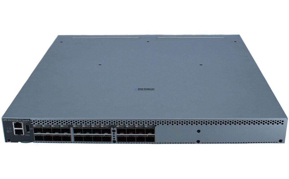Коммутатор HPE Enterprise - SN3000B 16Gb 24-port/12-port Active Fibre Channel Switc (QW937B)