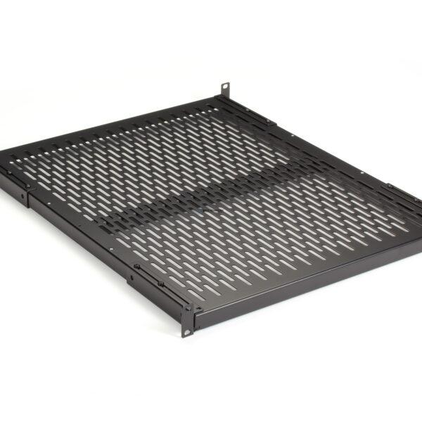 Black Box Fixed Vented Server Shelf - 565mm D 90-kg Capacity (RM399-R2)