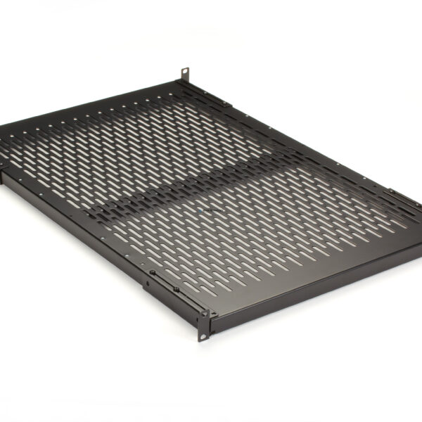 Black Box Fixed Vented Server Shelf - 692mm D 68-kg Capacity (RM403-R2)