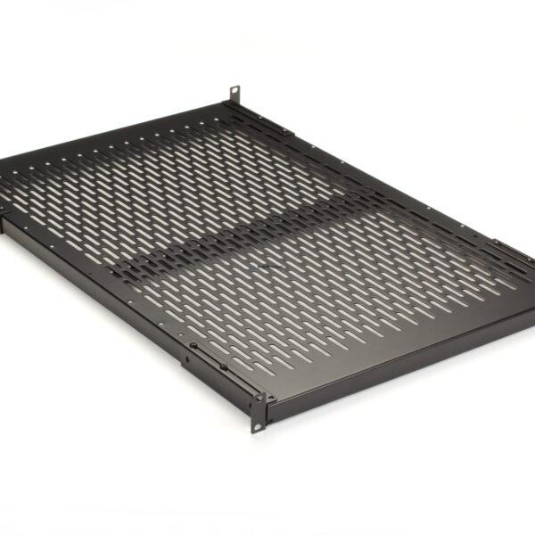 Black Box Fixed Vented Server Shelf - 692mm D 68-kg Capacity (RM403-R2)