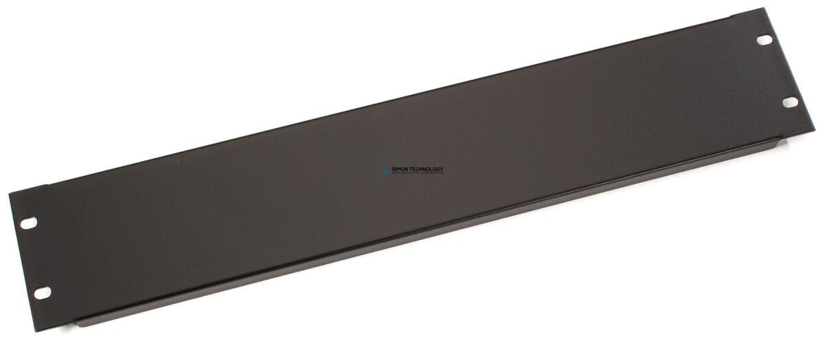 Black Box Filler Panel - Black 2U (RMTB02)