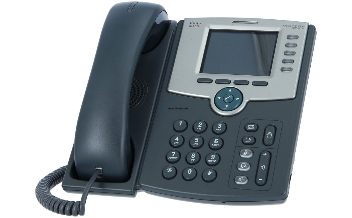 Cisco LINKSYS - 5-Line IP Phone with Color Display, PoE, 802.11g, Bluetooth (SPA525G2)