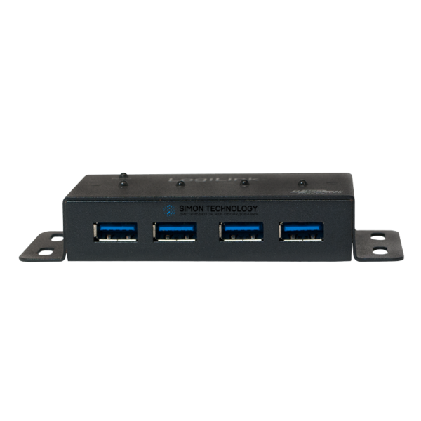 LogiLink PC HARDW - USB 3.0 Hub 4-Port - Hub - 4 x SuperSpeed USB 3.0 NEW (UA0149)