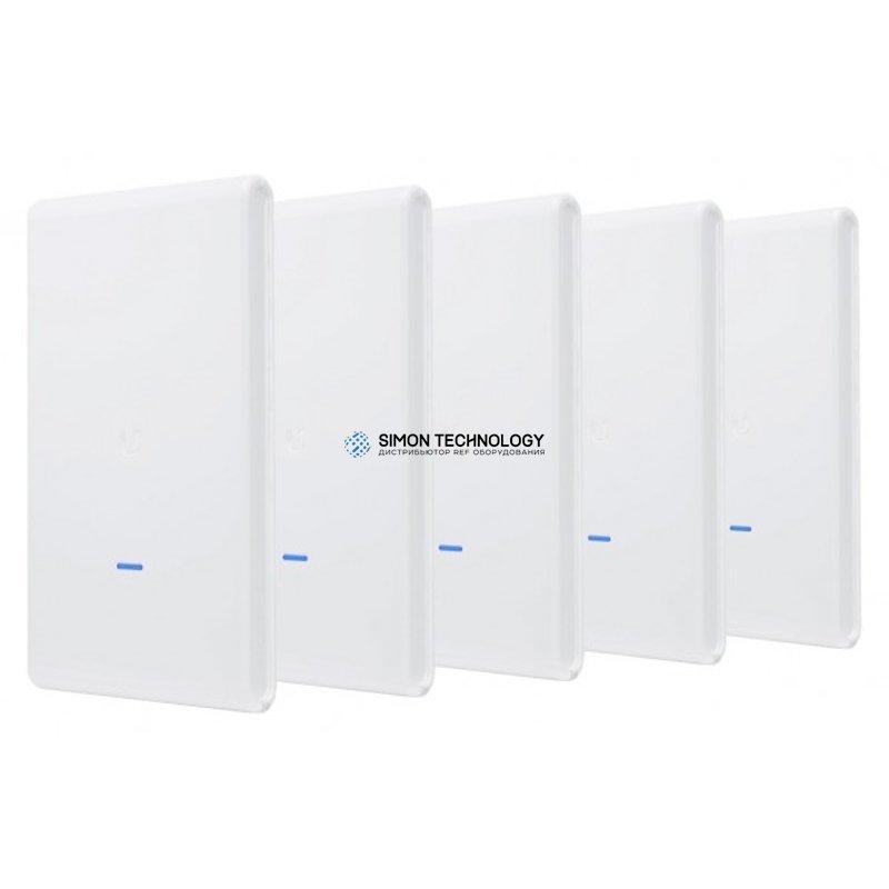 Точка доступа Ubiquiti Funkbasisst on - Wi-Fi - 2.4 GHz, 5 GHz - Gleichstrom (Packung mit 5) (UAP-AC-M-PRO-5)