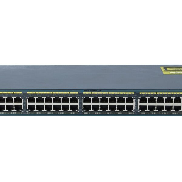 Коммутатор Cisco Catalyst 2960 Plus 48 10/100 + 2 T/SFP LAN Lite (WS-C2960+48TC-S)