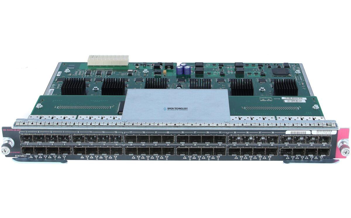 Модуль Cisco Catalyst 4500 48-Port 1000Base-X (SFPs Optional) (WS-X4448-GB-SFP=)